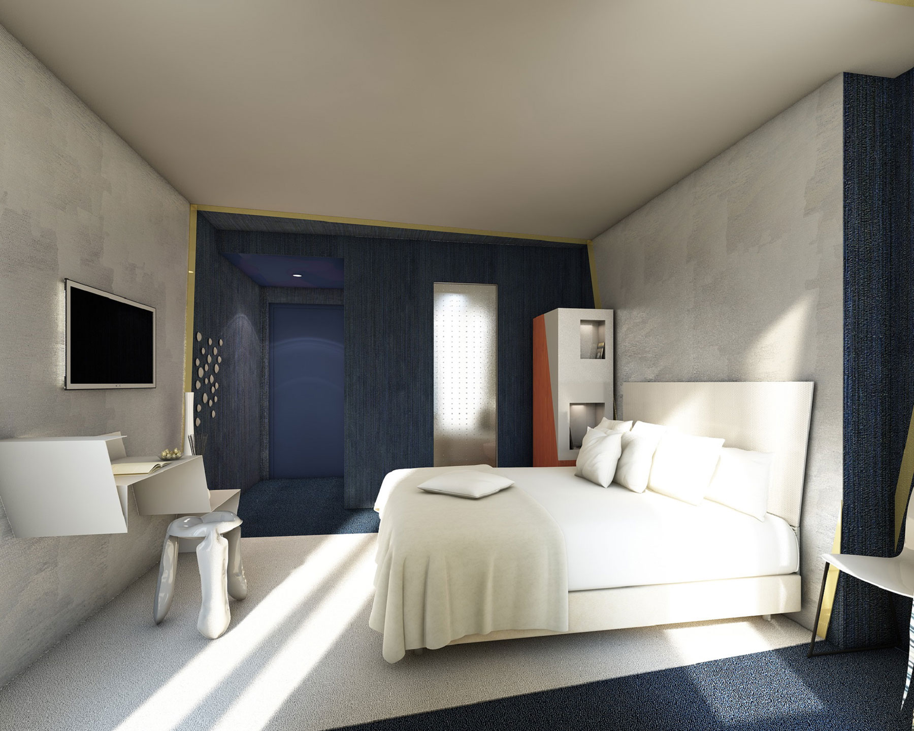 Maison Moderne A Vendre Canada : chambre de luxe 2 pers 12m² à 14m² toutes les chambres sont